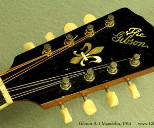 Gibson A-4 Mandolin 1914 (consignment) Sold