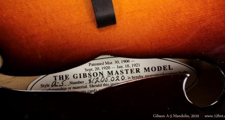 2010-Gibson-A-5-Mandolin-label