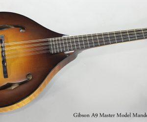 SOLD! 2008 Gibson A9 Master Model Mandolin