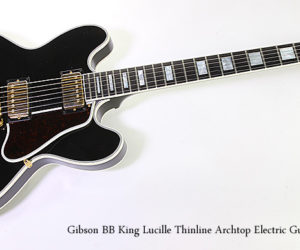 Gibson BB King Lucille Thinline Archtop Electric Guitar, 1995