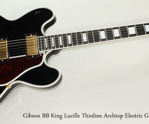 NO LONGER AVAILABLE!!! 2010 Gibson BB King Lucille Thinline Archtop Electric Guitar
