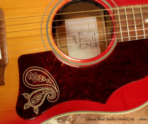 Gibson Brad Paisley Model J-45 (SOLD)