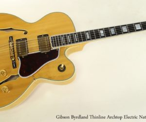 Gibson Byrdland Thinline Archtop Electric Natural, 1991