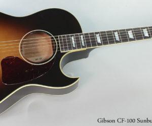 2015 Gibson CF-100 Vintage Sunburst