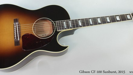 Gibson-CF-100-Sunburst-2015-Full-Front-View