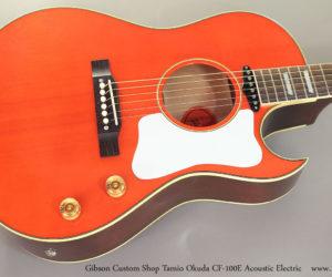 Gibson Custom Shop Tamio Okuda CF-100E