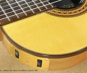 1990 Gibson Chet Atkins CE Solidbody Classical (consignment) No Longer Available