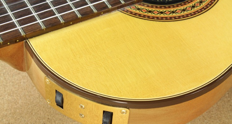 Gibson-Chet-Atkins-CE-Solidbody-Classical-1990-controls