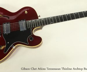 REDUCED Gibson Chet Atkins Tennessean Thinline Archtop Burgundy, 1997