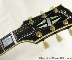 2010 Gibson CS-356 Natural  (consignment)  SOLD