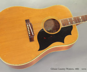 1965 Gibson Country Western (consignment)  SOLD