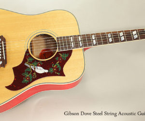 2016 Gibson Dove Steel String Acoustic Guitar
