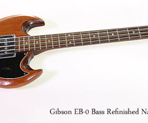 SOLD!!! Gibson EB-0 Bass Refinished Natural, 1965