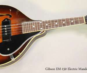 SOLD!!! 1949 Gibson EM-150 Electric Mandolin