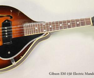 1949 Gibson EM-150 Electric Mandolin