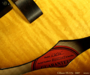 Gibson ES-175 2007 - No longer Available