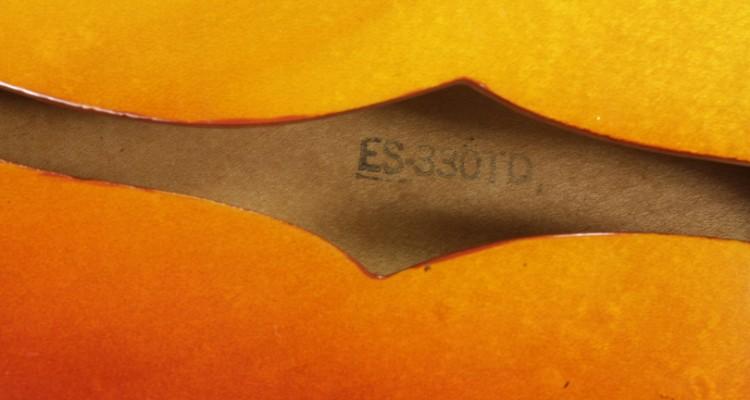 Gibson-ES-330TD-Sunburst-1966-label