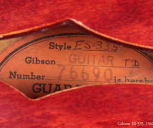 1962 Gibson ES-335 (consignment)  SOLD