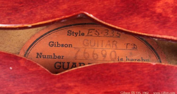 Gibson-ES-335-1962-label