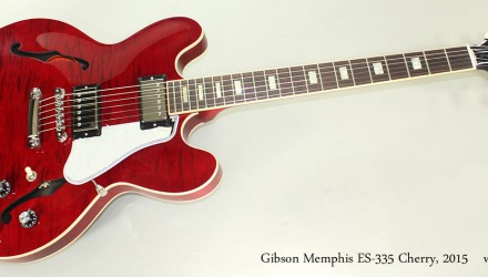 Gibson-Memphis-ES-335-Cherry-2015-Full-Front-View