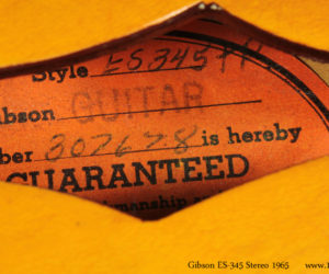 Gibson ES-345 Stereo 1965 SOLD