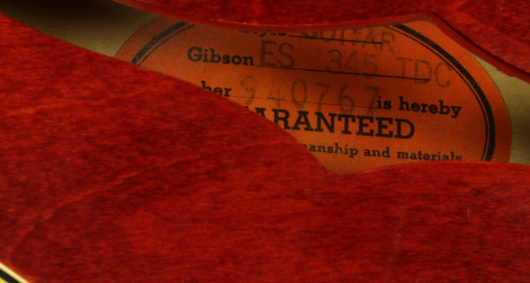 Gibson-ES-345-TDC-Stereo-1968-label