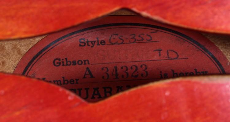 Gibson-ES-355-1960-label