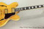 1999 Gibson ES-355 Historic Reissue Natural  SOLD