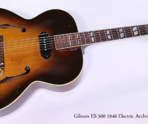 ❌ SOLD ❌ Gibson ES-300 1946 Sunburst Electric Archtop Guitar