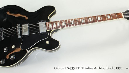 Gibson-ES-335-TD-Thinline-Archtop-Black-1976-Full-Front-View
