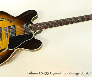 SOLD!  Gibson ES-335 Figured Top Vintage Burst, 1998