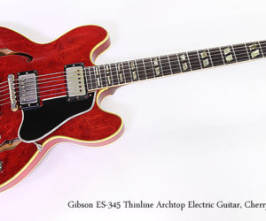 Gibson ES-345 Thinline Archtop Electric Guitar, 1964