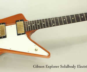 SOLD!!! 2005 Gibson Explorer Solidbody Electric Guitar