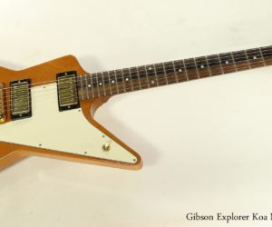 SOLD!!! Gibson Explorer Koa Natural, 2004