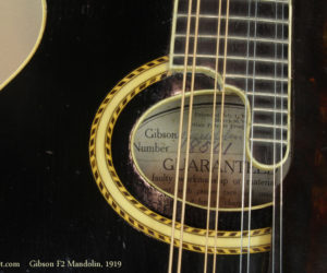 1919 Gibson F2 Mandolin  SOLD