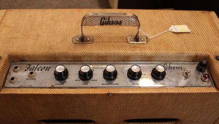 Gibson-Falcon-GA-19-Amplifier-1961-Top-Control-Panel
