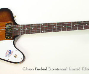 1976 Gibson Firebird Bicentennial Limited Edition Sunburst