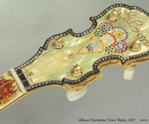 1927 Gibson Florentine Tenor Banjo (consignment)