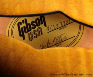 1997 Gibson Herb Ellis ES-165  SOLD
