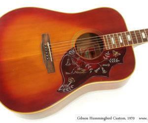 1970 Gibson Hummingbird Custom  SOLD