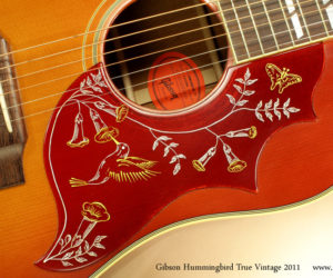 2011 Gibson Hummingbird True Vintage (consignment)  SOLD