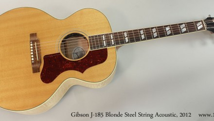 Gibson-J-185-Blonde-Steel-String-Acoustic-2012-Full-Front-View