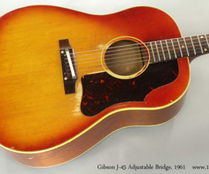 1961 Gibson J-45 Adjustable Bridge (consignment) NO LONGER AVAILABLE