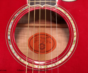 2005 Gibson J-185 EC Custom  (consignment) SOLD