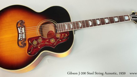 Gibson-J-200-Steel-String-Acoustic-1959-Full-Front-View