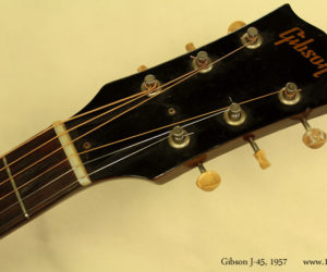 1957 Gibson J-45 (consignment) SOLD