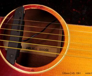 Cherryburst 1961 Gibson J-45  SOLD