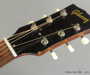 1963 Gibson J-45 Sunburst (consignment)  SOLD