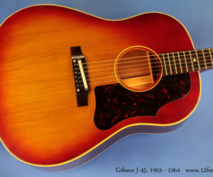 Gibson J-45 1963 - 1964 (consignment) SOLD