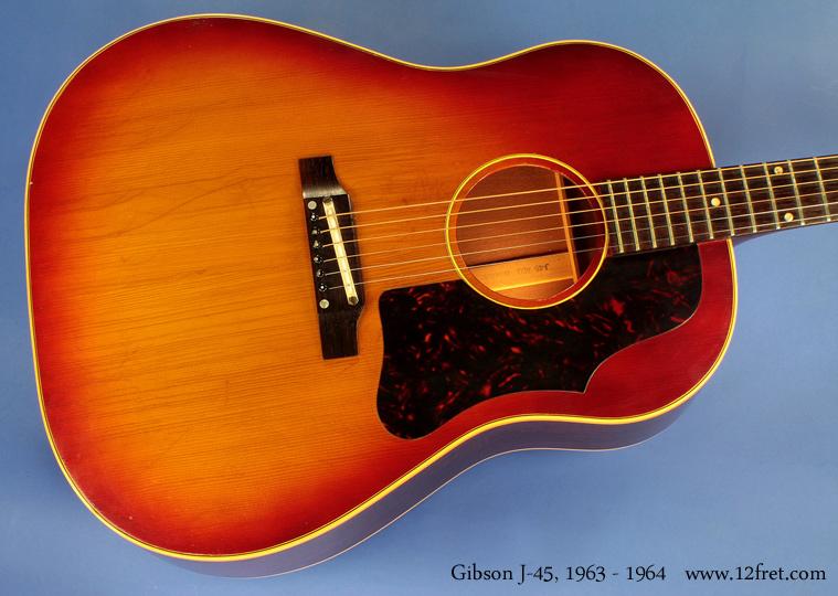 Gibson J 45 1963 1964 Www 12fret Com